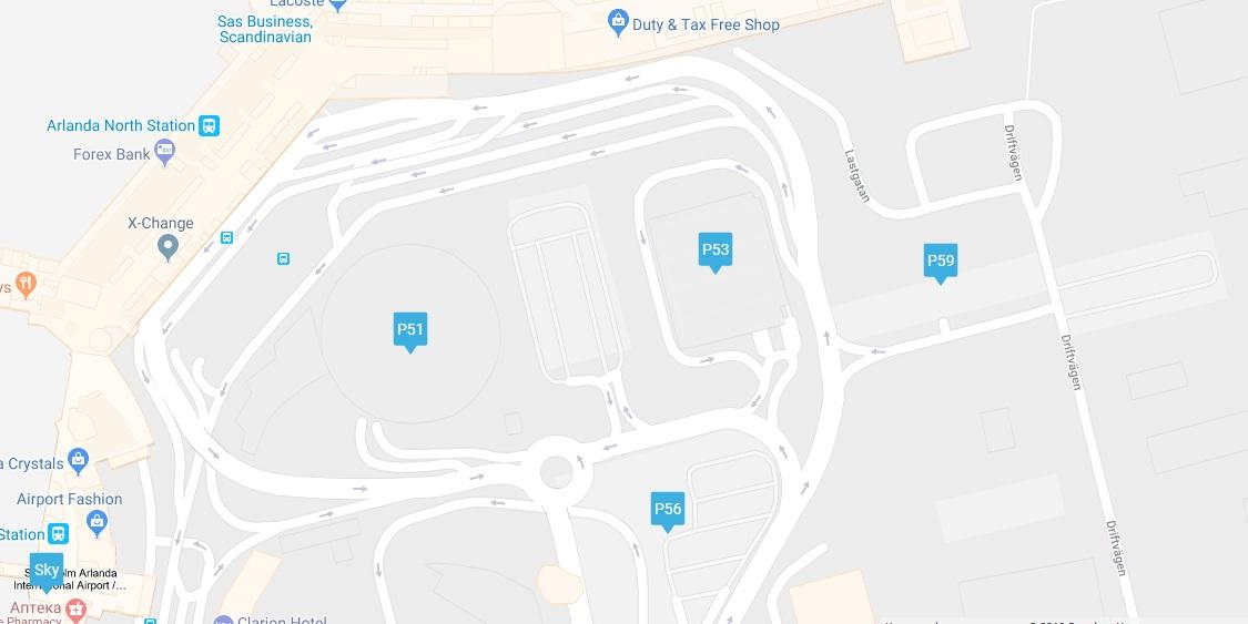 Karta Over Arlanda Flygplats.Arlanda Parkering Terminal 5 Karta Karta